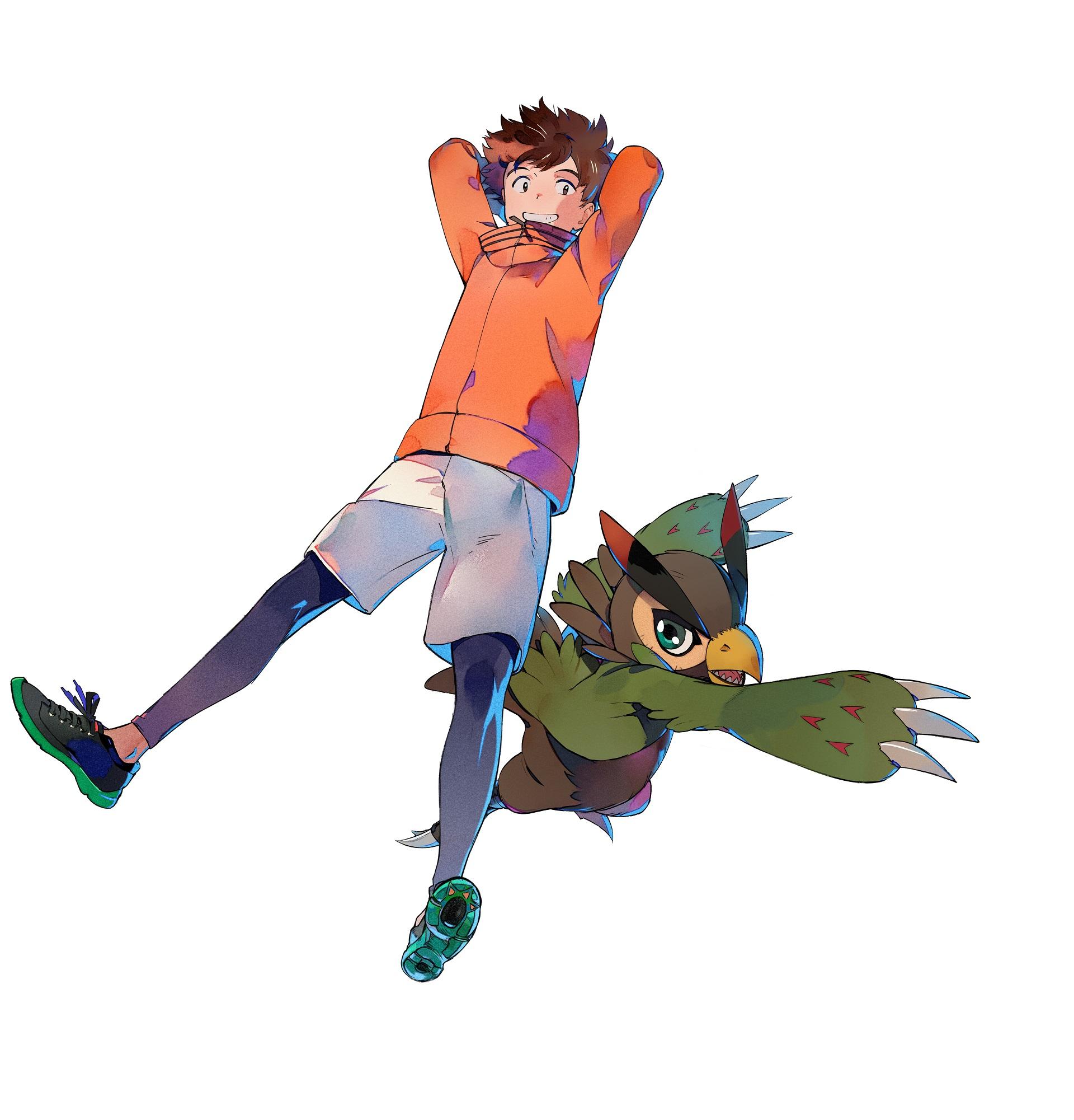 Digimon Survive: Minoru & Falcomon