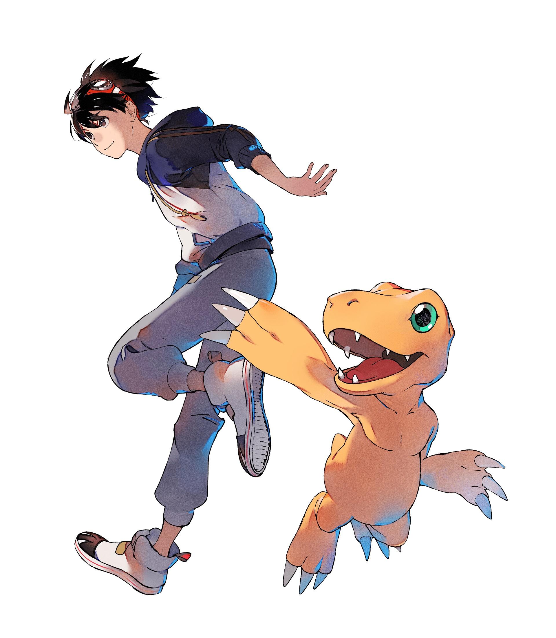 Digimon Survive: Takuma & Agumon