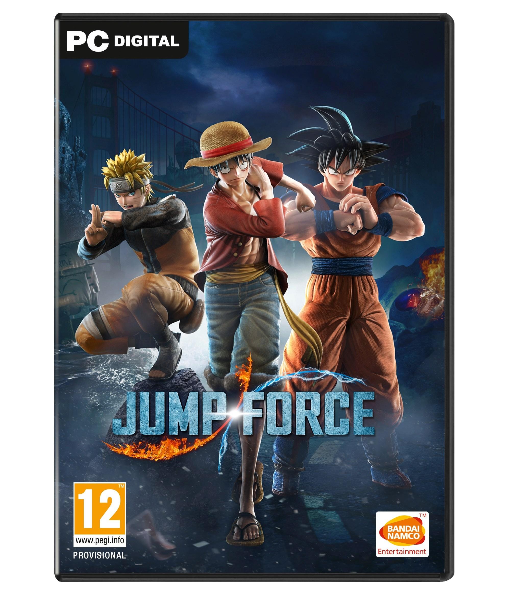 Jump Force - PC Box Art