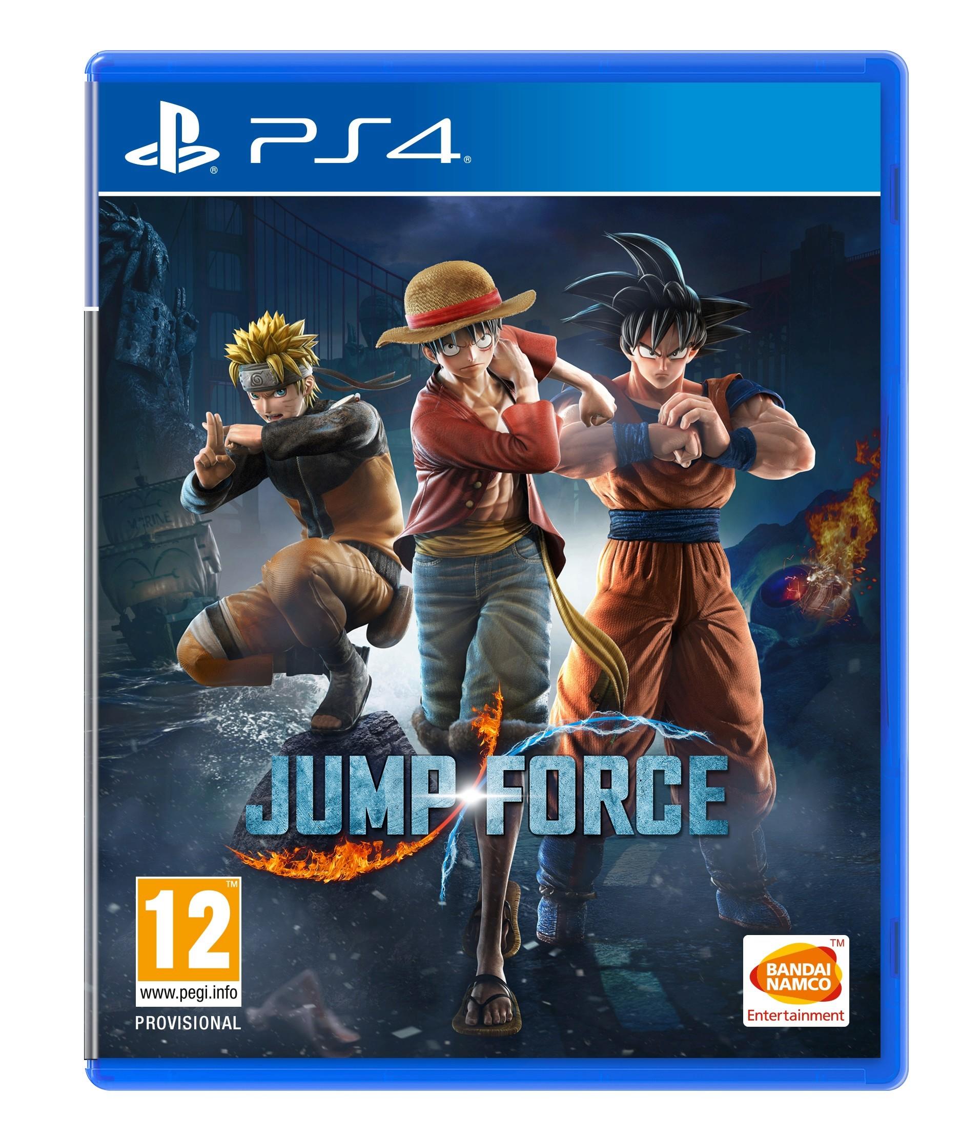 Jump Force - PS4 Box Art