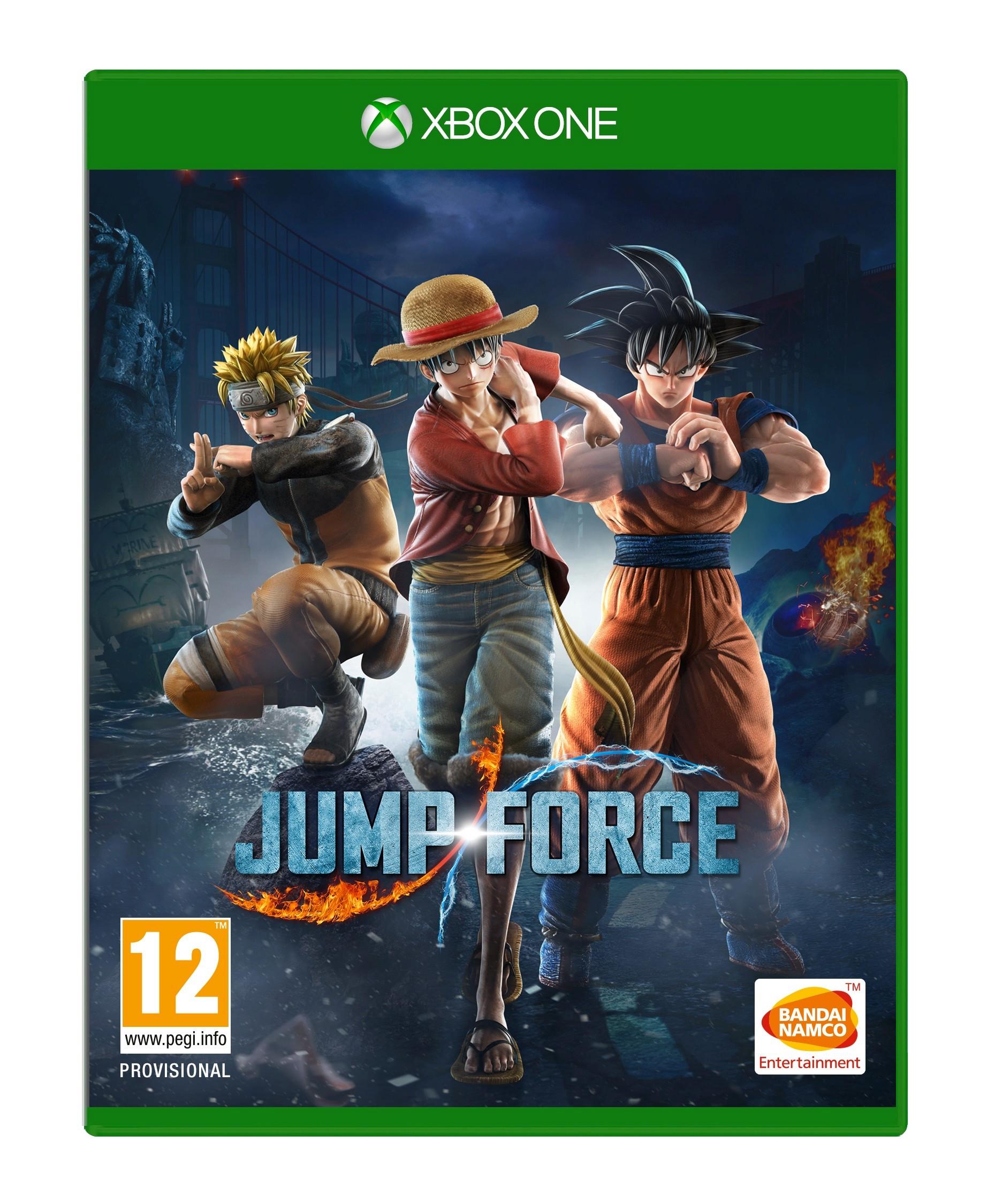 Jump Force - Xbox One Box Art