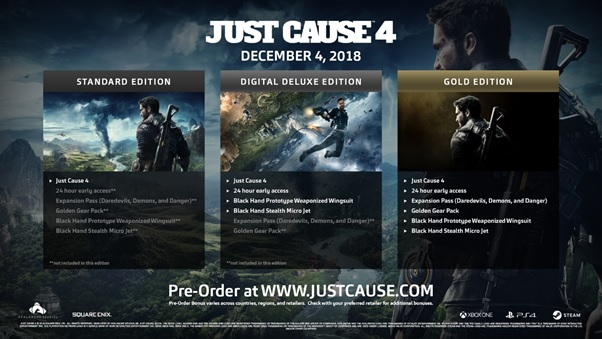 Just Cause 4 Special Edition