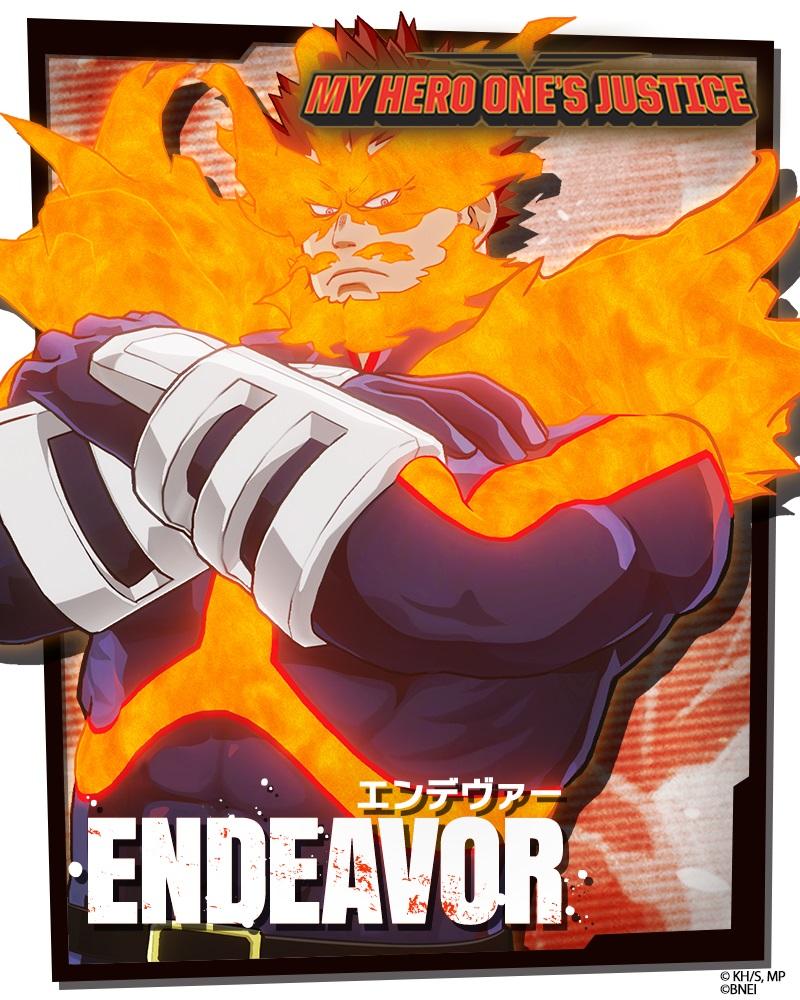 My Hero One's Justice Endeavor