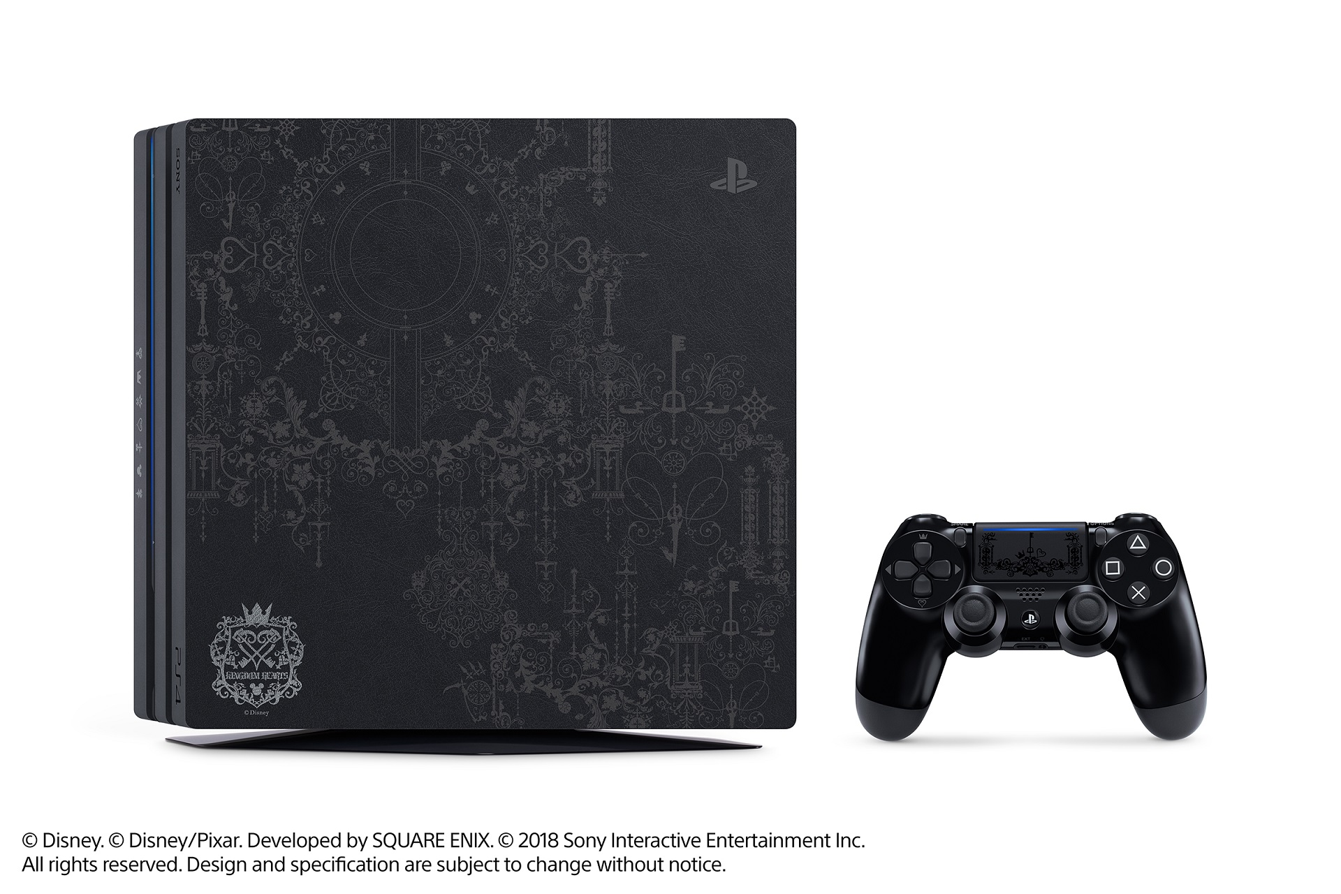 PS4 Pro Kingdom Hearts III Bundle Details