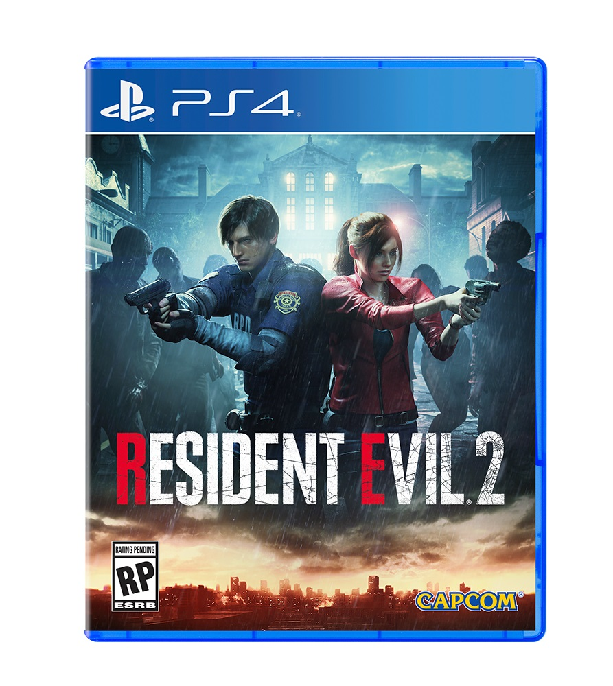Resident Evil 2 PS4 Box Art