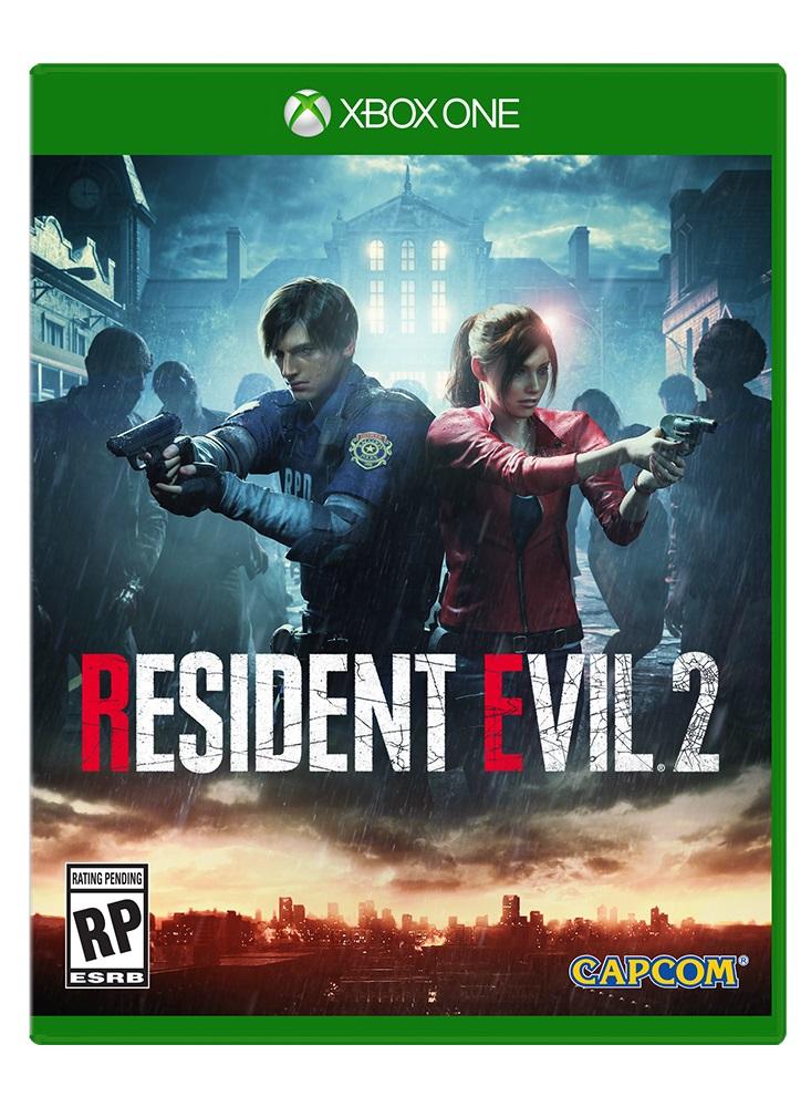 Resident Evil 2 Xbox One Box Art