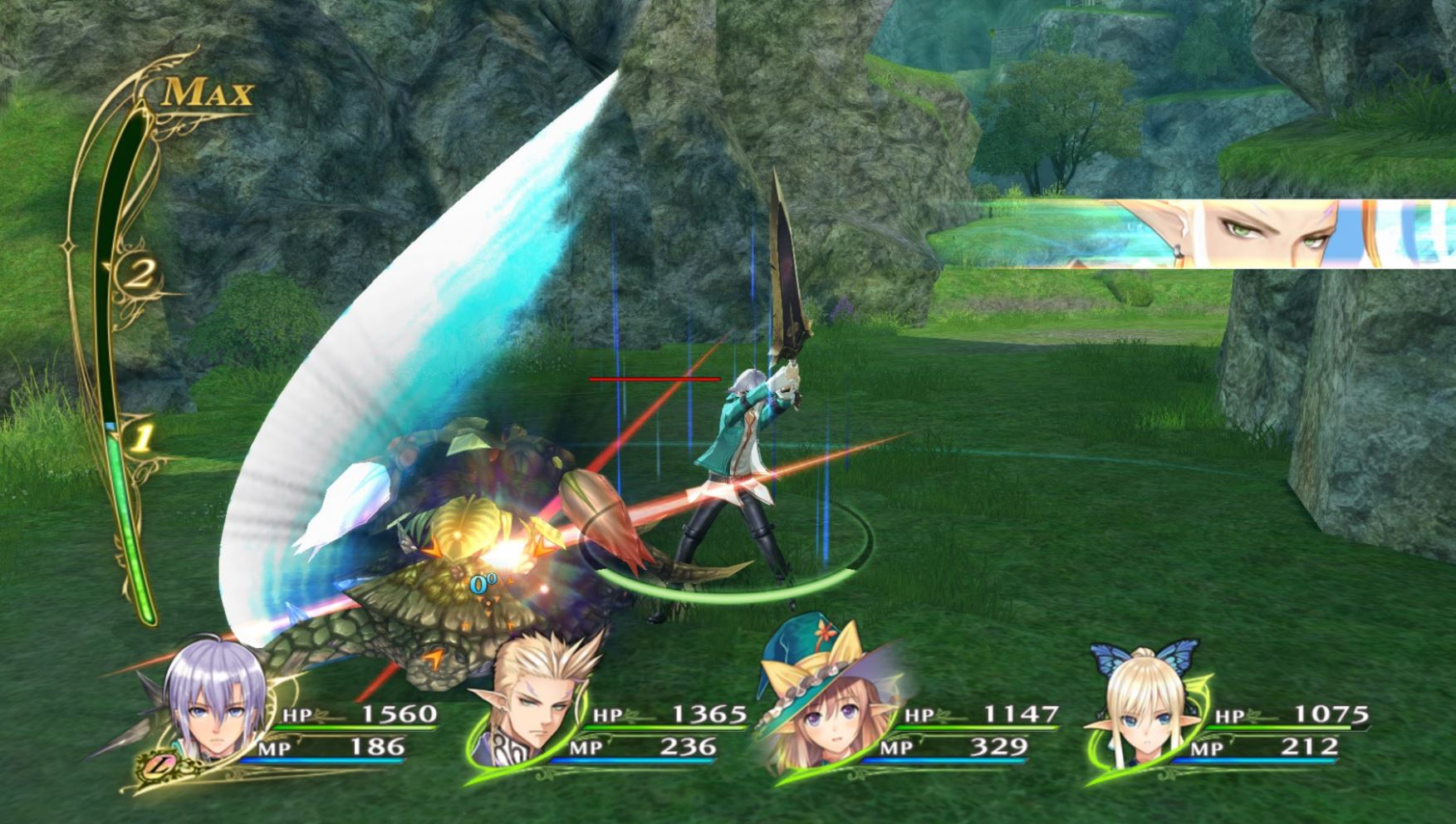 Shining Resonance Refrain Combat System