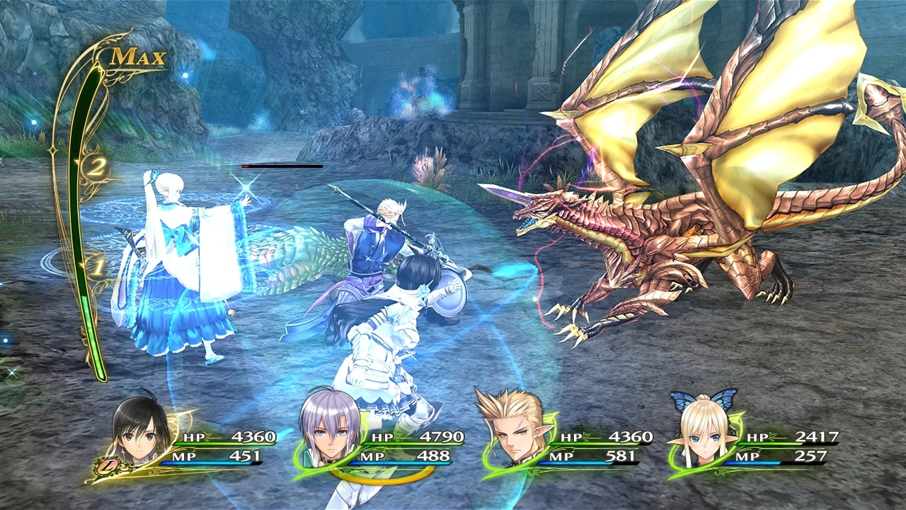 Shining Resonance Refrain Drago Splendente