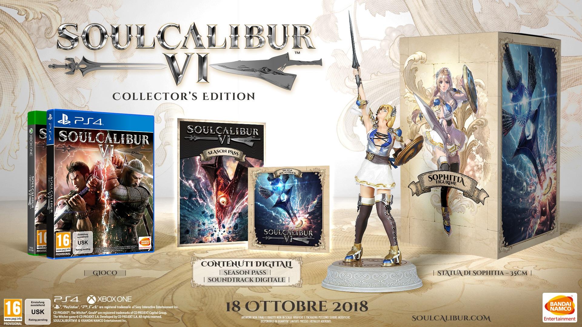 Soul Calibur VI Collector's Edition