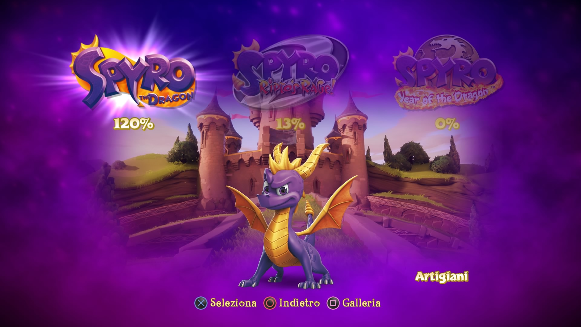 Spyro Reignited Trilogy Screenshot 01
