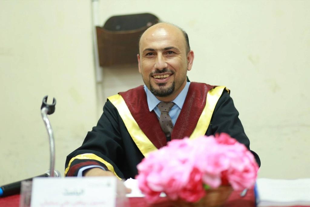 جامعة الأقصى تمنح الباحث حسين 39273510.jpg